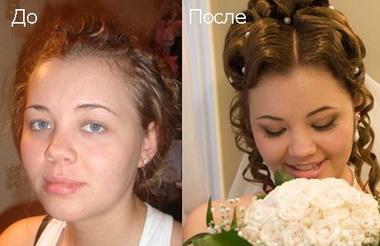 Накладные ресницы: до и после (фото)